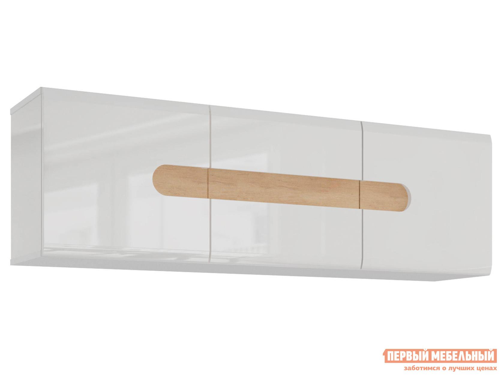 Навесной шкаф Первый Мебельный Полка навесная Кальяри навесной шкаф первый мебельный шкаф навесной длинный маркиза