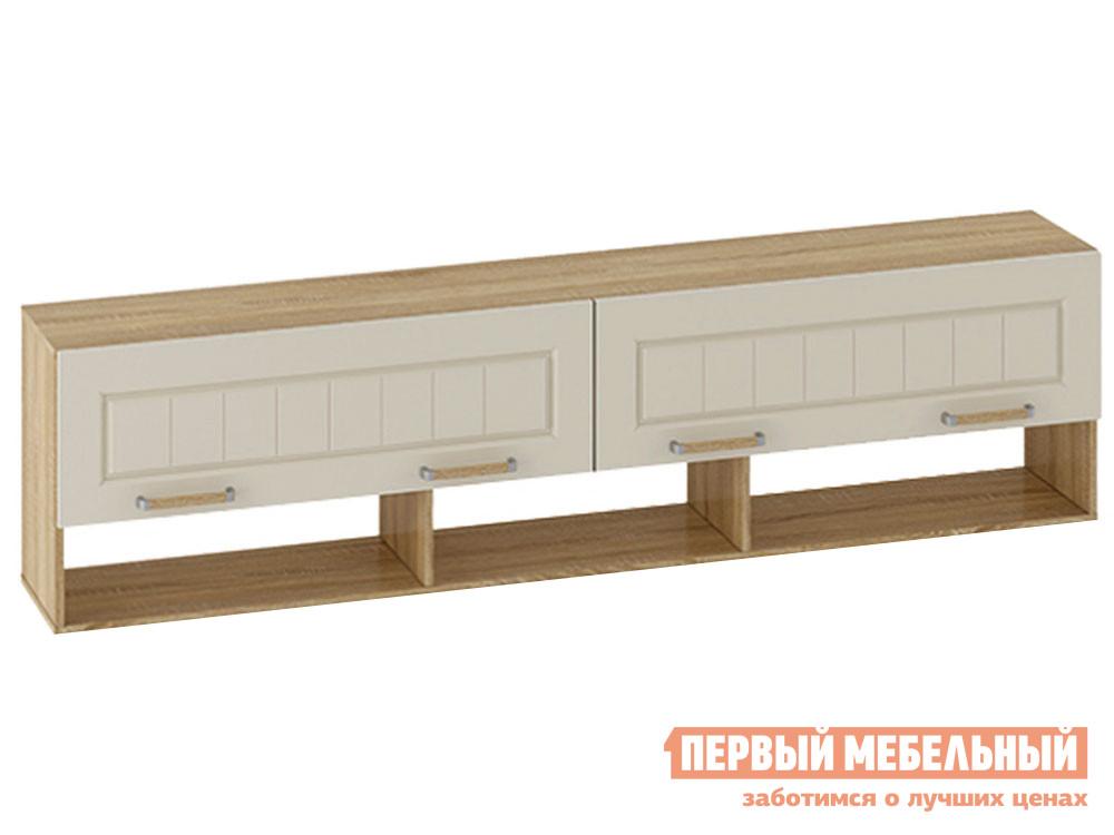 Навесной шкаф Первый Мебельный Шкаф навесной длинный Маркиза навесной шкаф первый мебельный шкаф навесной длинный маркиза