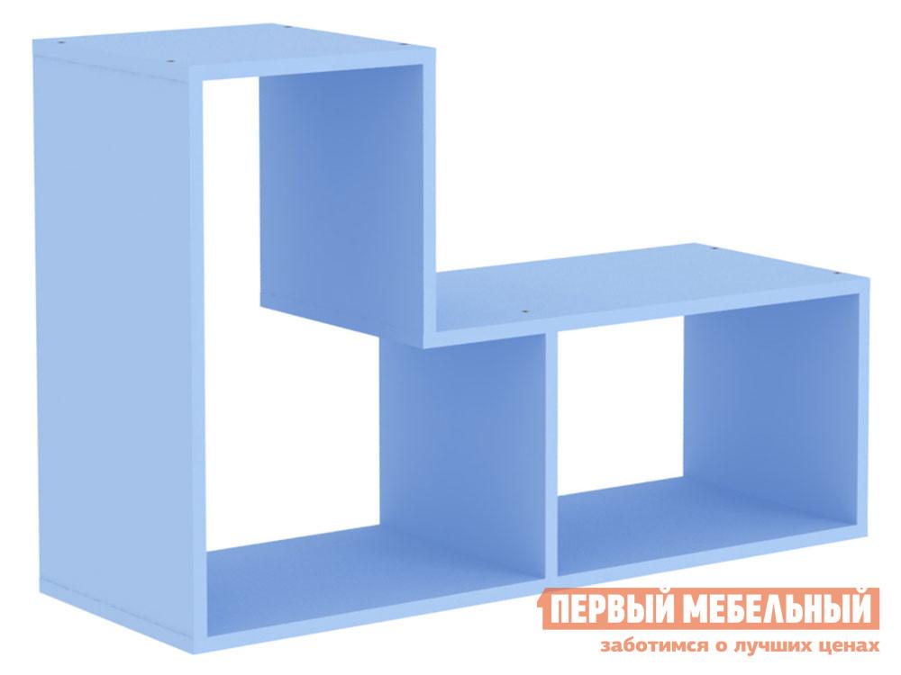 Полка детская  Полка фигурная Дарина АРТ.УП04 Голубой — Полка фигурная Дарина АРТ.УП04 Голубой