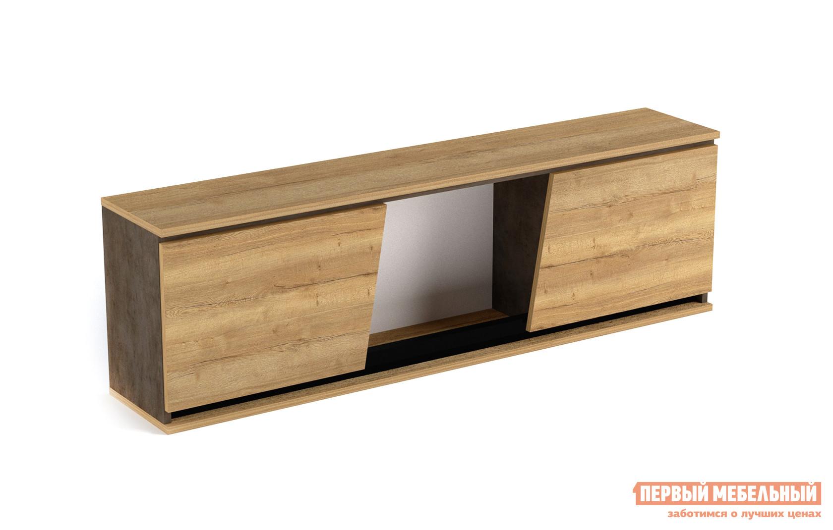 Настенная полка Первый Мебельный Стреза Шкаф навесной навесной шкаф первый мебельный шкаф навесной длинный маркиза