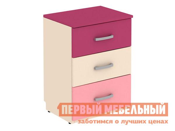 Тумба детская  Тумба Дарина АРТ.УТ02 Песок / Розовый — Тумба Дарина АРТ.УТ02 Песок / Розовый
