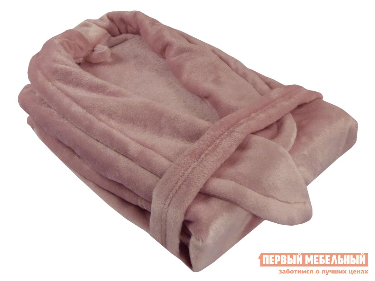 Женский халат Первый Мебельный Халат из микрофибры женский дымчатая роза Бельвита