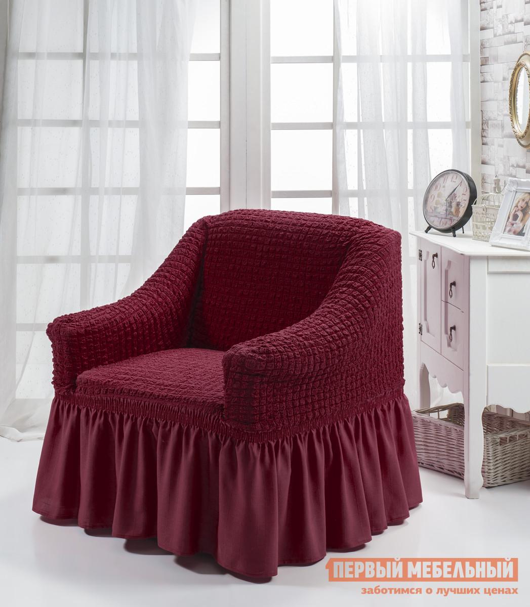 """Чехол для мебели  Чехол для кресла """"Стамбул"""" Бордовый — Чехол для кресла """"Стамбул"""" Бордовый"""
