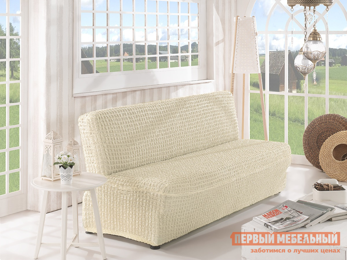 Чехол для двухместного дивана Первый Мебельный Чехол для дивана Стамбул двухместный без подлокотников , без юбки чехол для кресла первый мебельный чехол для кресла стамбул без юбки