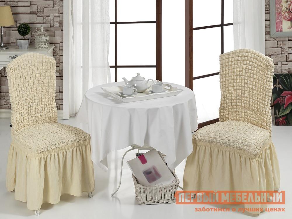 "Чехол для мебели  Чехлы на стулья ""Стамбул"" Натурал"
