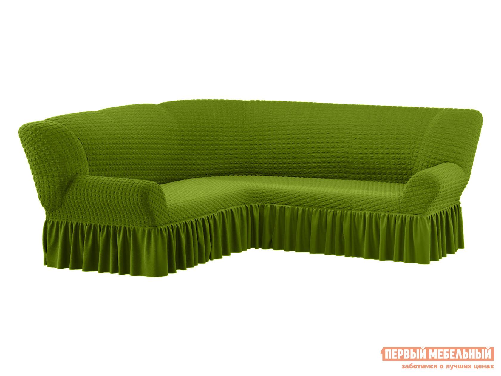 Фото - Чехол для углового дивана Первый Мебельный Чехол на угловой диван жатка чехол для двухместного дивана первый мебельный чехол для дивана стамбул двухместный без юбки