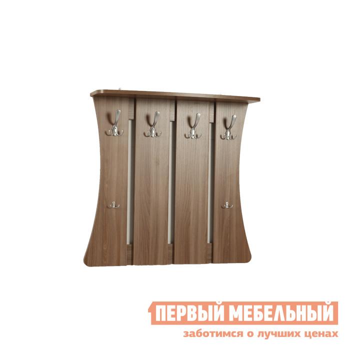 Настенная вешалка Первый Мебельный Вешалка Уют 2 вешалка 18 прищепок пластик 846693