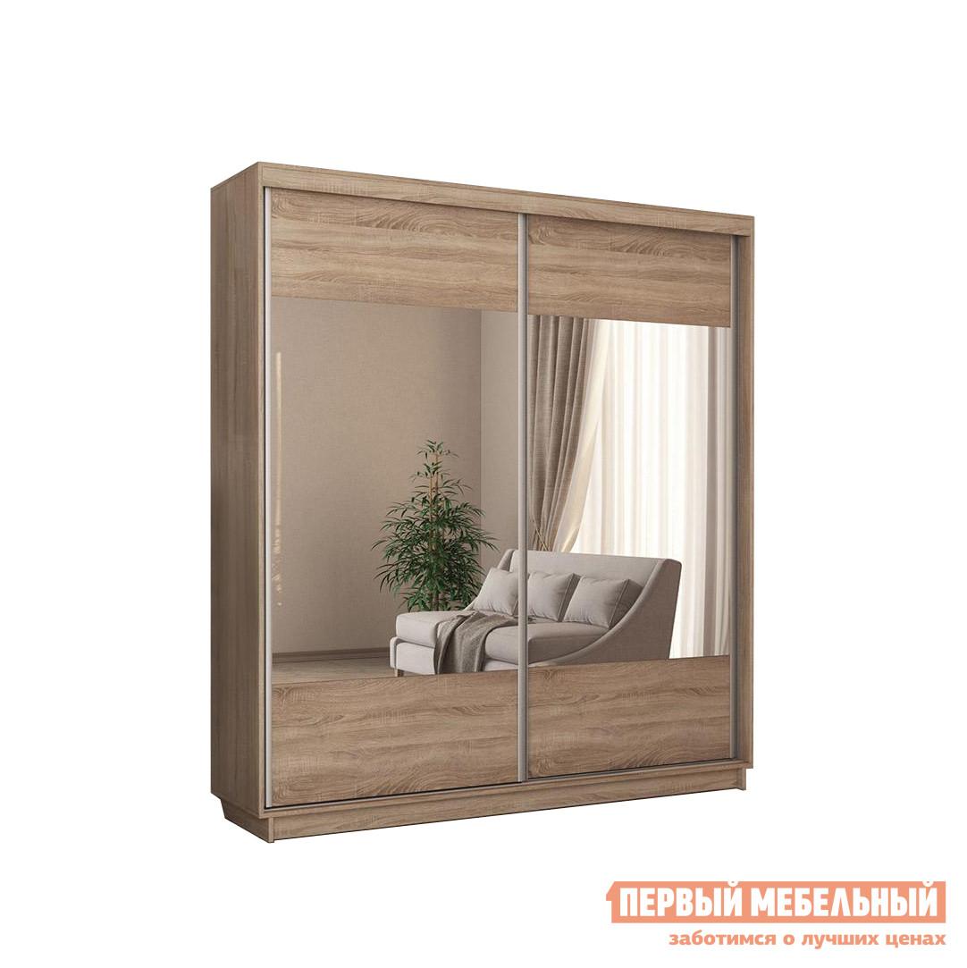 Шкаф-купе с зеркалом Первый Мебельный Шкаф-купе Гринвуд