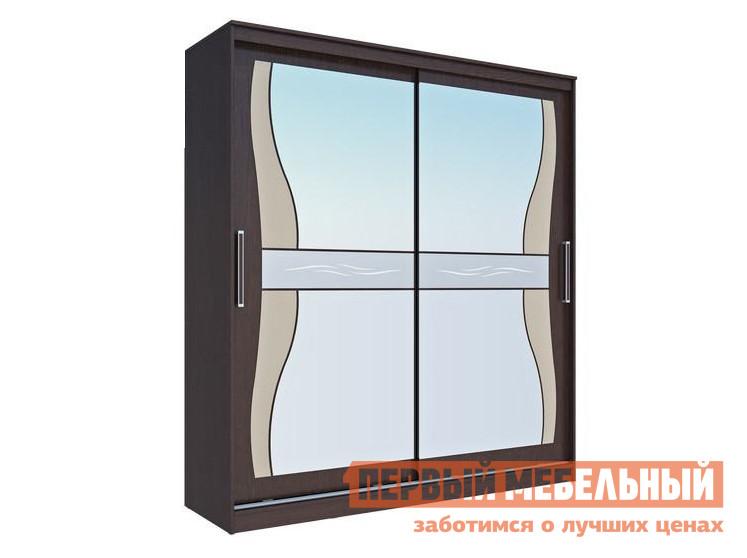 Шкаф-купе Первый Мебельный Комфорт 12 Фигурное зеркало