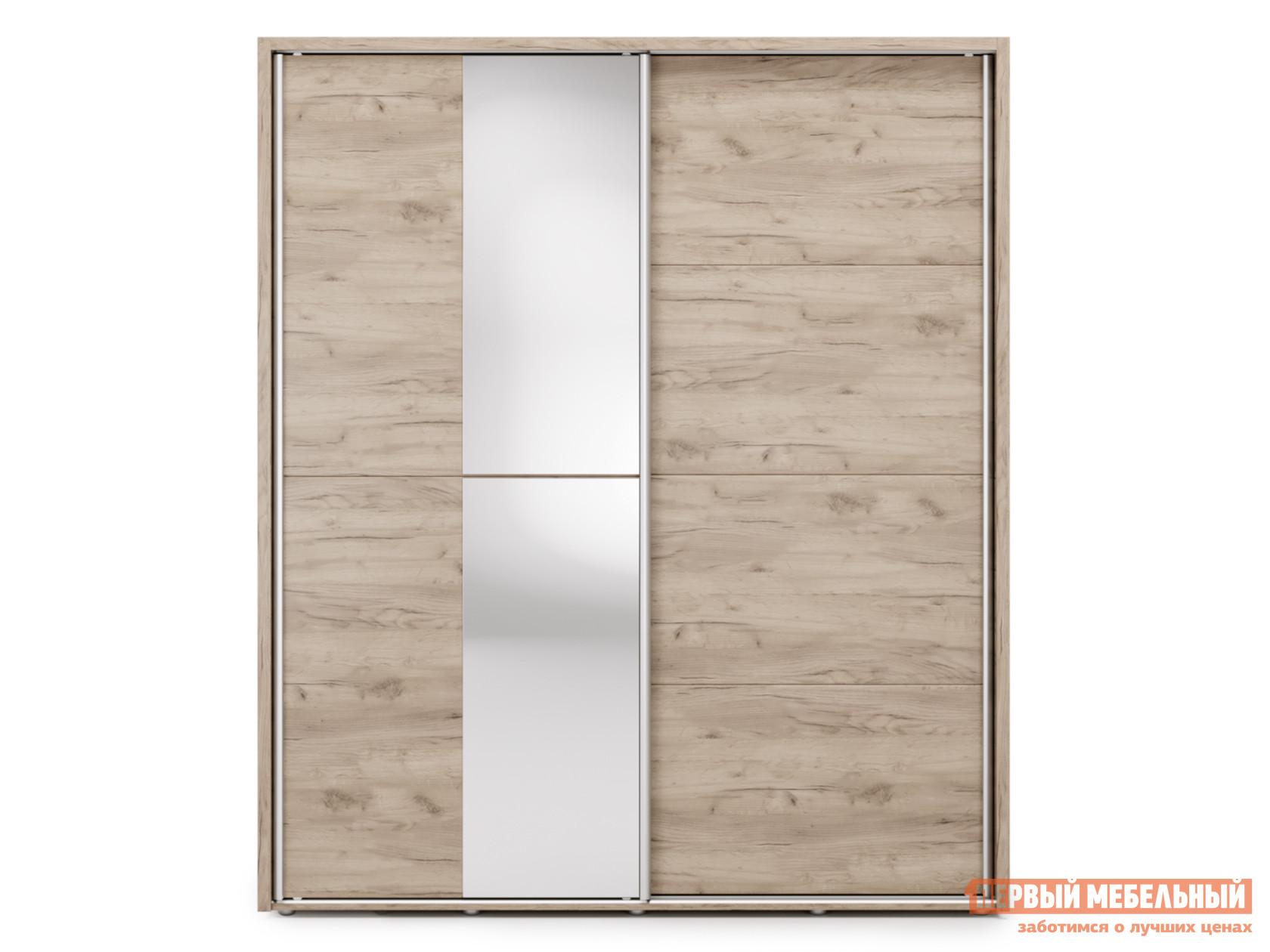 Шкаф-купе с зеркалом Первый Мебельный Огайо с зеркалом 180