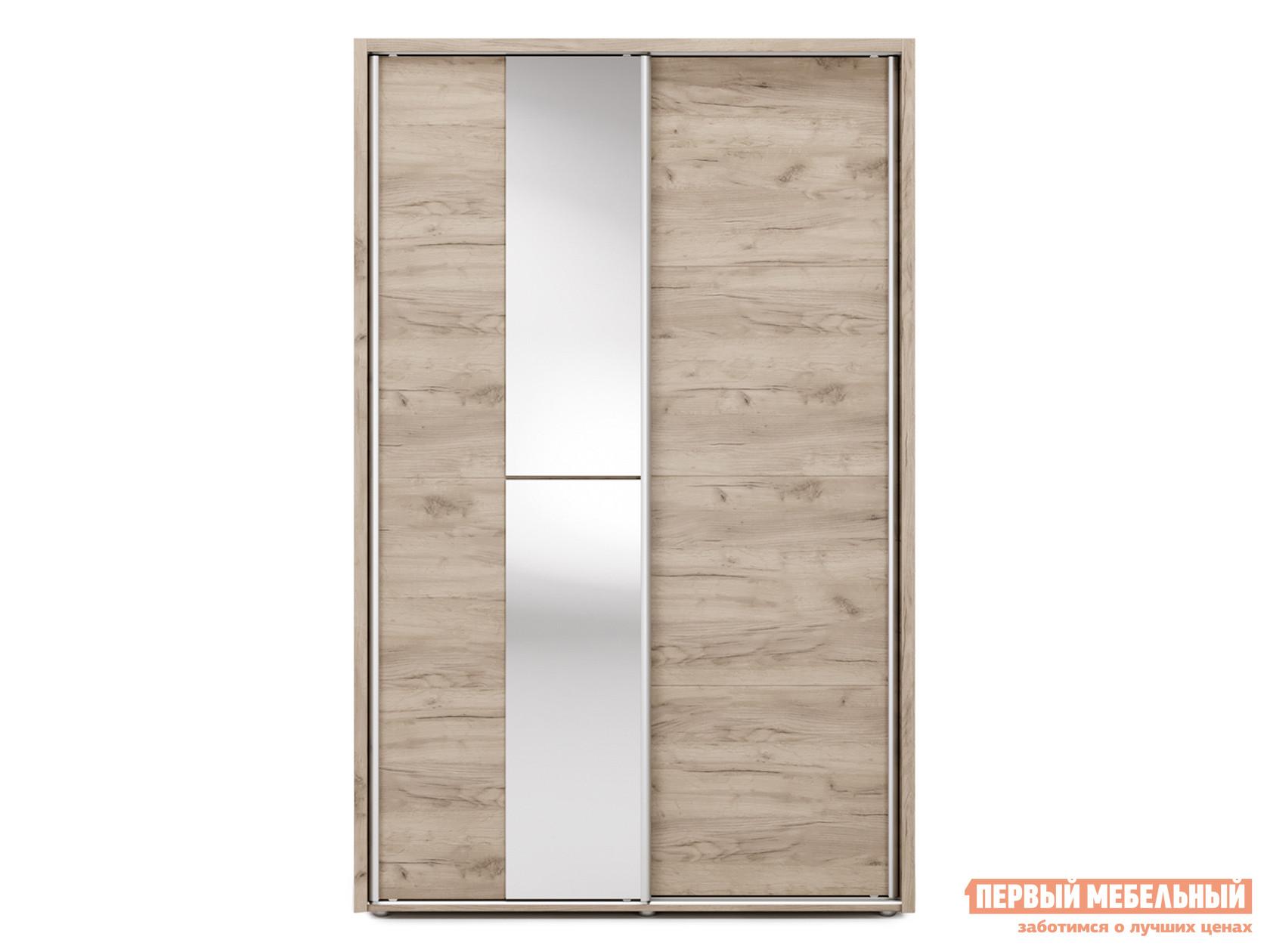 Шкаф-купе с зеркалом Первый Мебельный Огайо с зеркалом