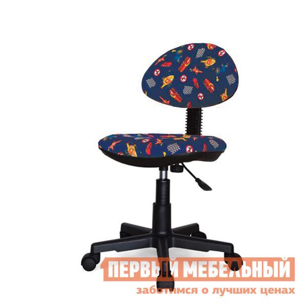 Детское компьютерное кресло ПМ: ФАКТОР Стар Детское Синие машинки