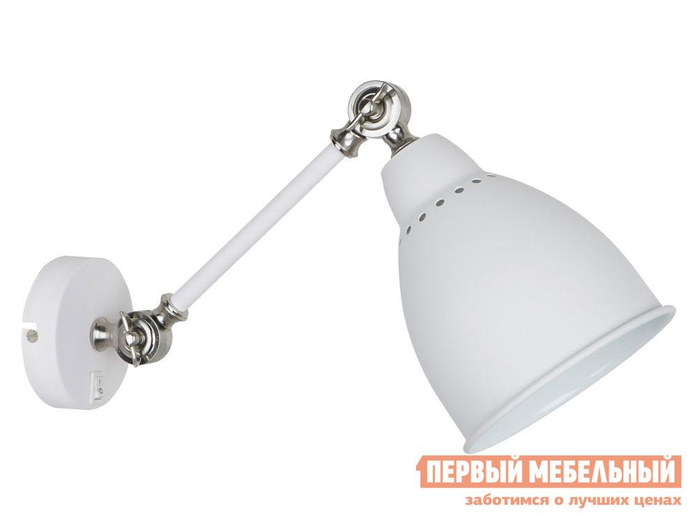 Бра Первый Мебельный Бра BRACCIO A2054AP-1WH бра artelamp a2054ap 1bk 1хe27х60
