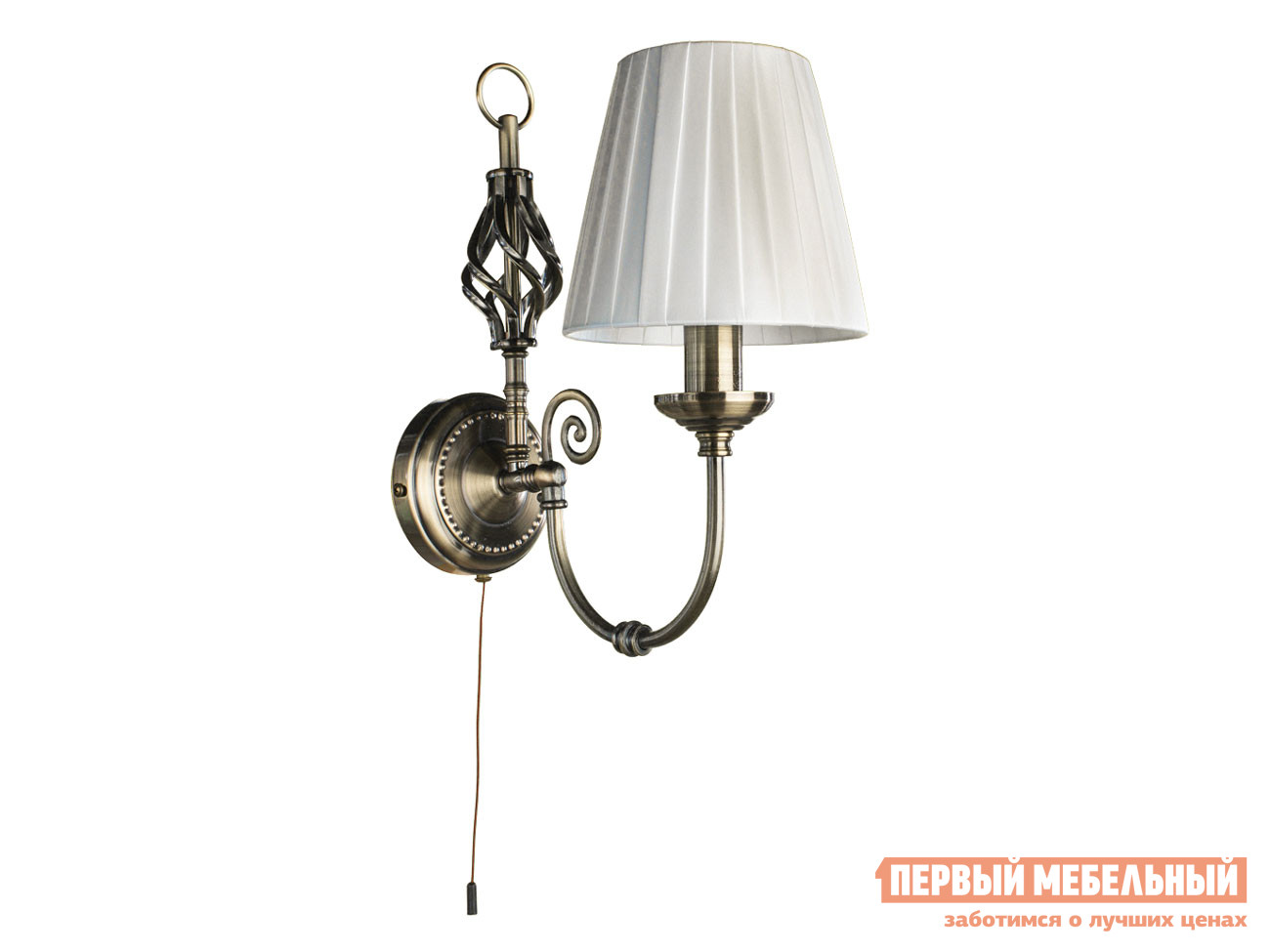 Бра Первый Мебельный Бра ZANZIBAR A8390AP-1AB бра arte lamp zanzibar a8390ap 1ab