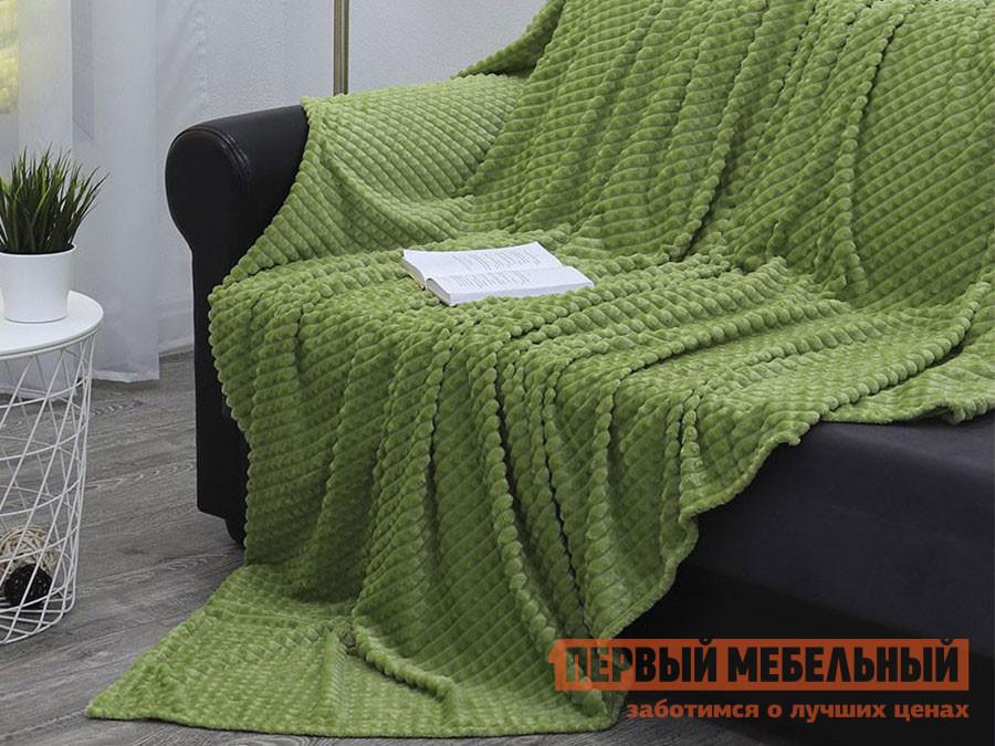 Покрывало  Гроу 200 х 220 см, 14696 / 14705, зеленый ТехRepublic 137547