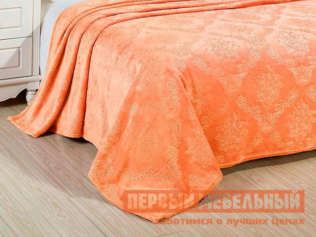 Плед Первый Мебельный Плед Cleo ПАРМА велсофт 119-OP печенье коровка сахарное топленое молоко 375г