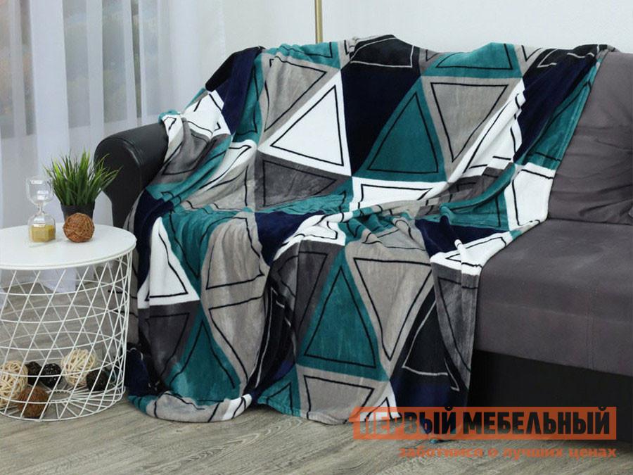 Покрывало  Треугольники 150 х 200 см, 26221 / 26233, разноцветный ТехRepublic 137579