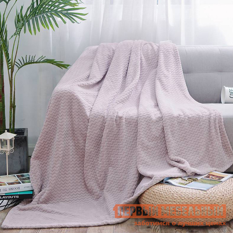 Плед Первый Мебельный Плед Cleo ROYAL PLUSH велсофт 020-RP плед cleo royal plush 180 020 rp светло розовый 180 х 200 см