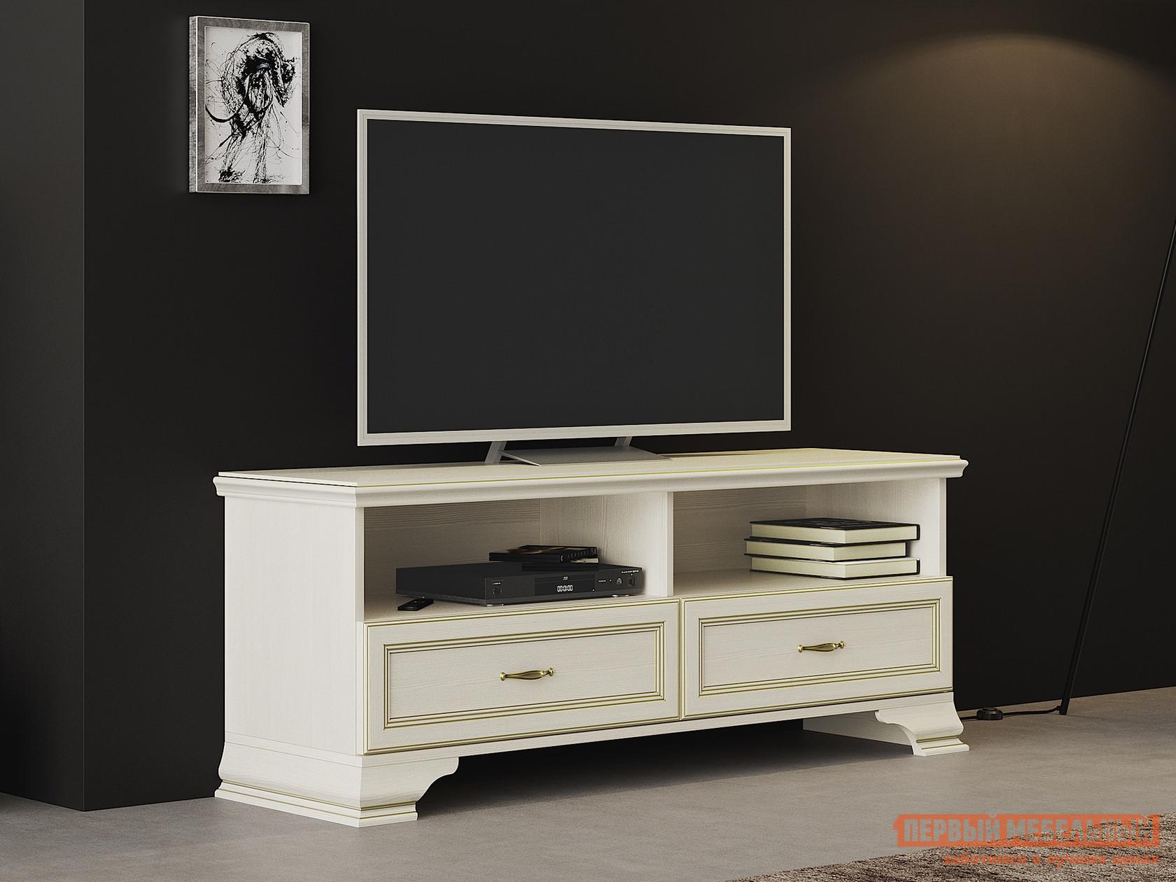 ТВ-тумба Первый Мебельный ТВ тумба низкая Сиена тумба для тв techlink techlink rv100lo
