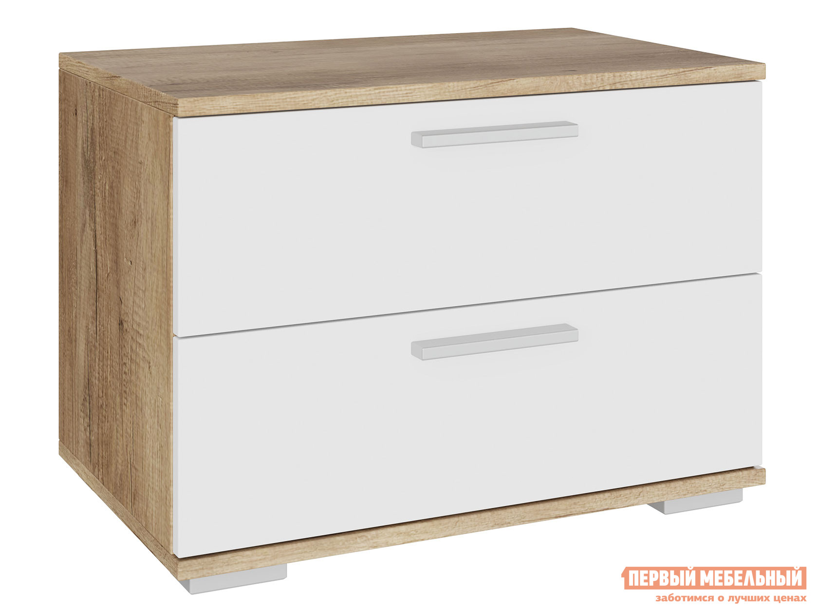 ТВ-тумба Первый Мебельный Тумба под ТВ 2 ящика Лейла / Тумба под ТВ малая с 2 ящиками Лейла комоды под тв узкие