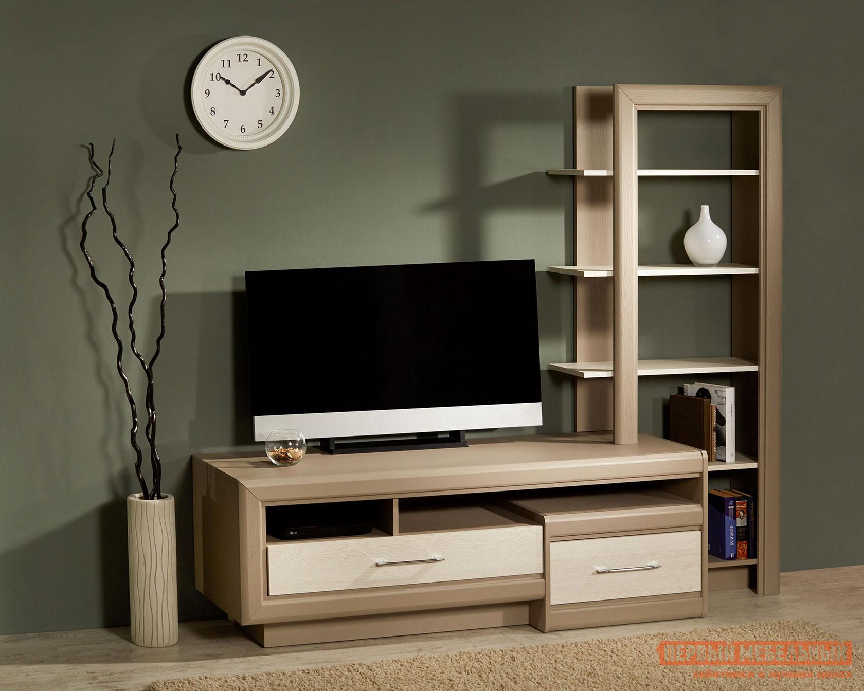 ТВ-тумба Первый Мебельный Лацио Тумба под TV