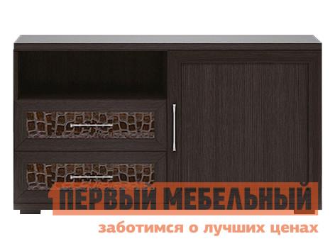 ТВ-тумба Первый Мебельный Тумба для аппаратуры высокая 1200 Парма Люкс