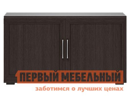 ТВ-тумба Первый Мебельный Тумба для аппаратуры высок. 1200 (2 двери) Парма Люкс цена и фото