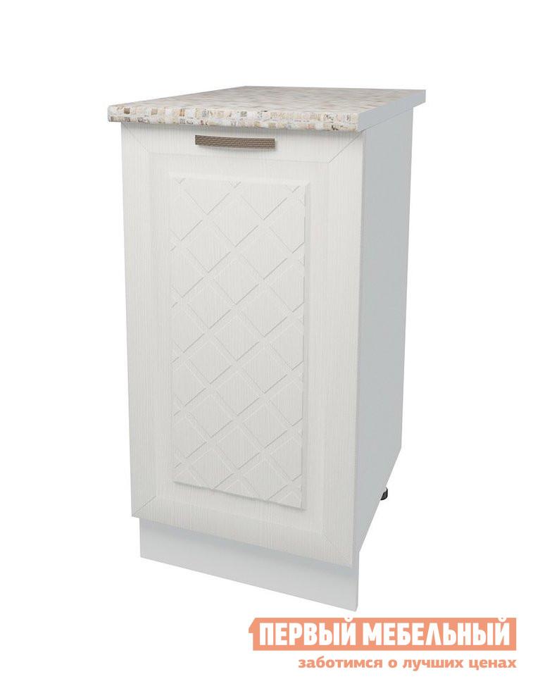 Кухонный модуль Первый Мебельный Стол 1 дверь 40 см Агава