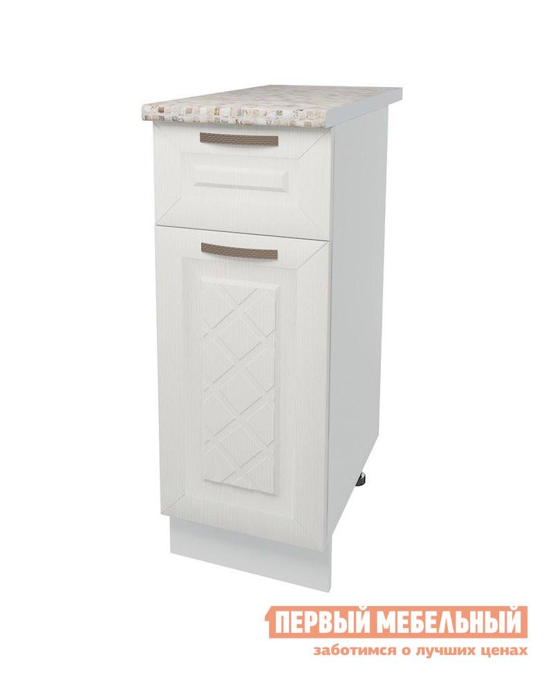 Кухонный модуль Первый Мебельный Стол 1 дверь 1 ящик 30 см Агава