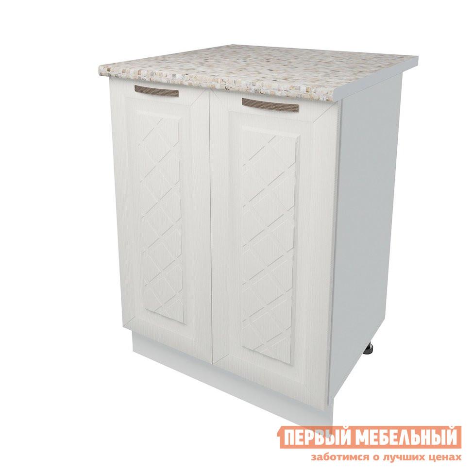Кухонный модуль Первый Мебельный Стол 2 двери 60 см Агава кухонный модуль первый мебельный шкаф антресольный 2 двери 80 см агава