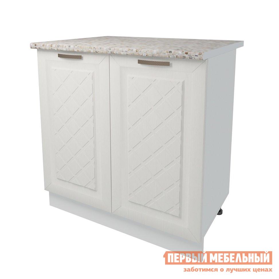 Кухонный модуль Первый Мебельный Стол 2 двери 80 см Агава кухонный модуль первый мебельный шкаф антресольный 2 двери 80 см агава