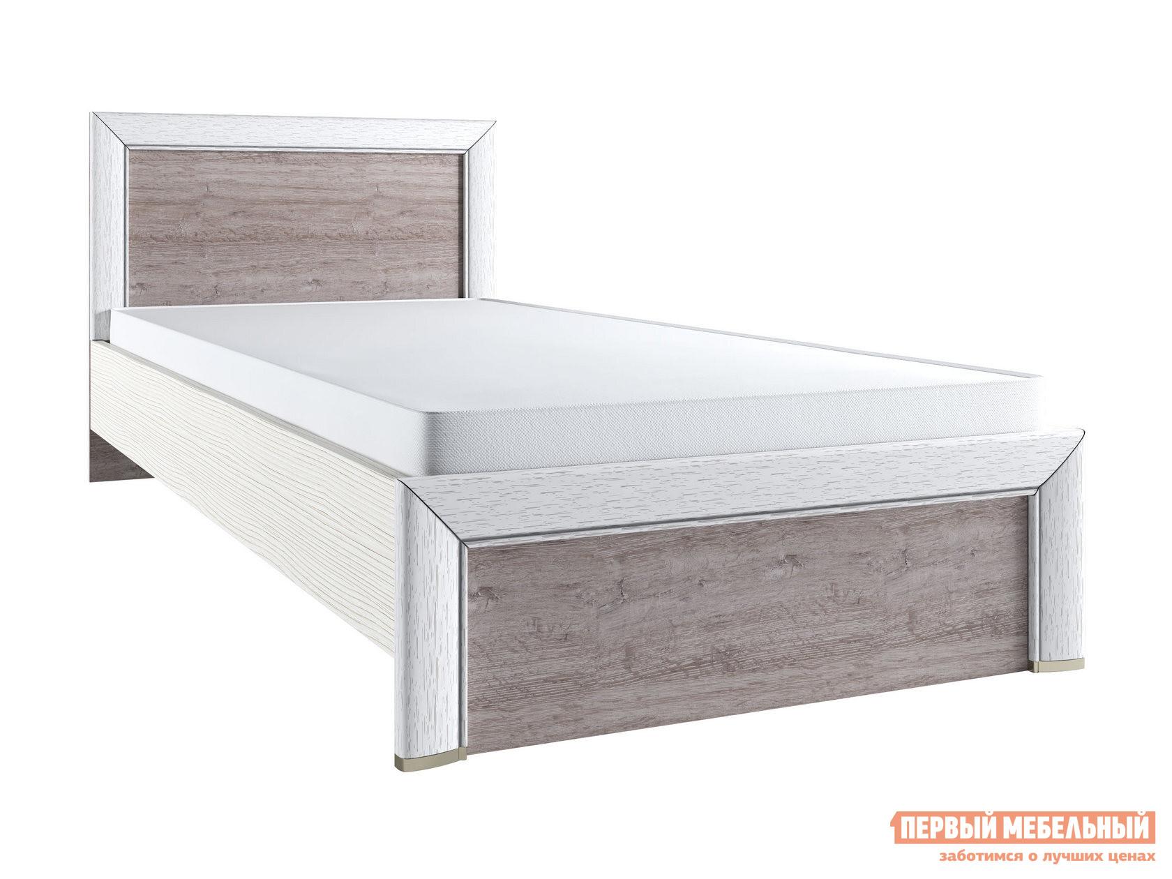 Односпальная кровать Первый Мебельный Кровать Оливия 90х200 / 120х200 железная кровать односпальная tetchair румба
