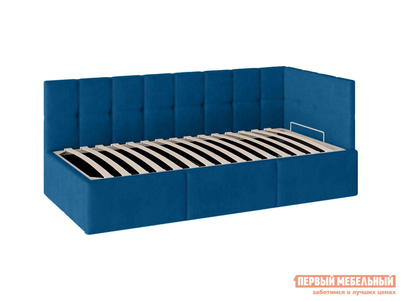 Угловая кровать с подъемным механизмом Первый Мебельный Кровать с подъемным механизмом Оттава 90х200