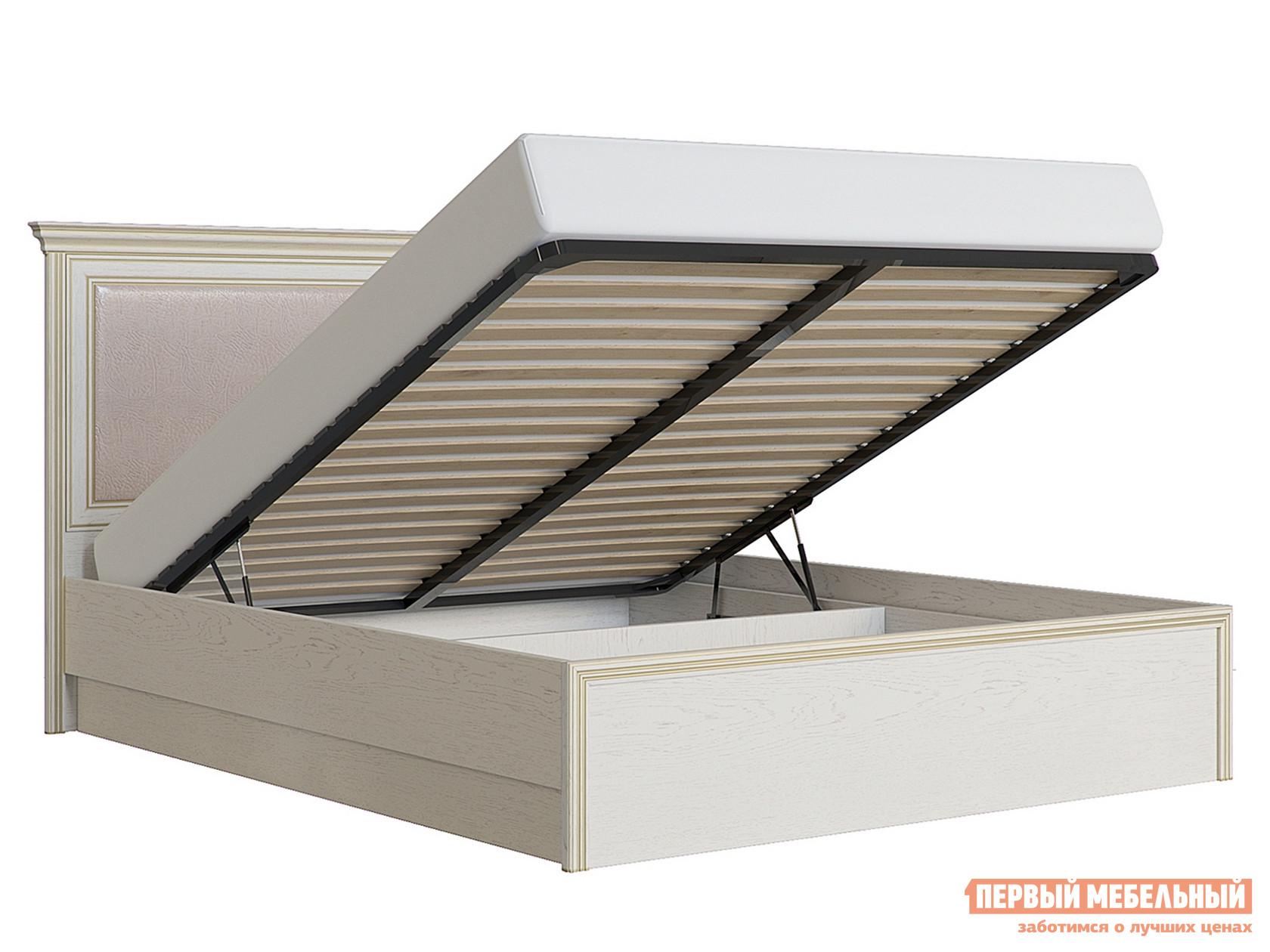 Полутороспальная кровать с подъемным механизмом Первый Мебельный Кровать с подъемным механизмом Венето 140х200