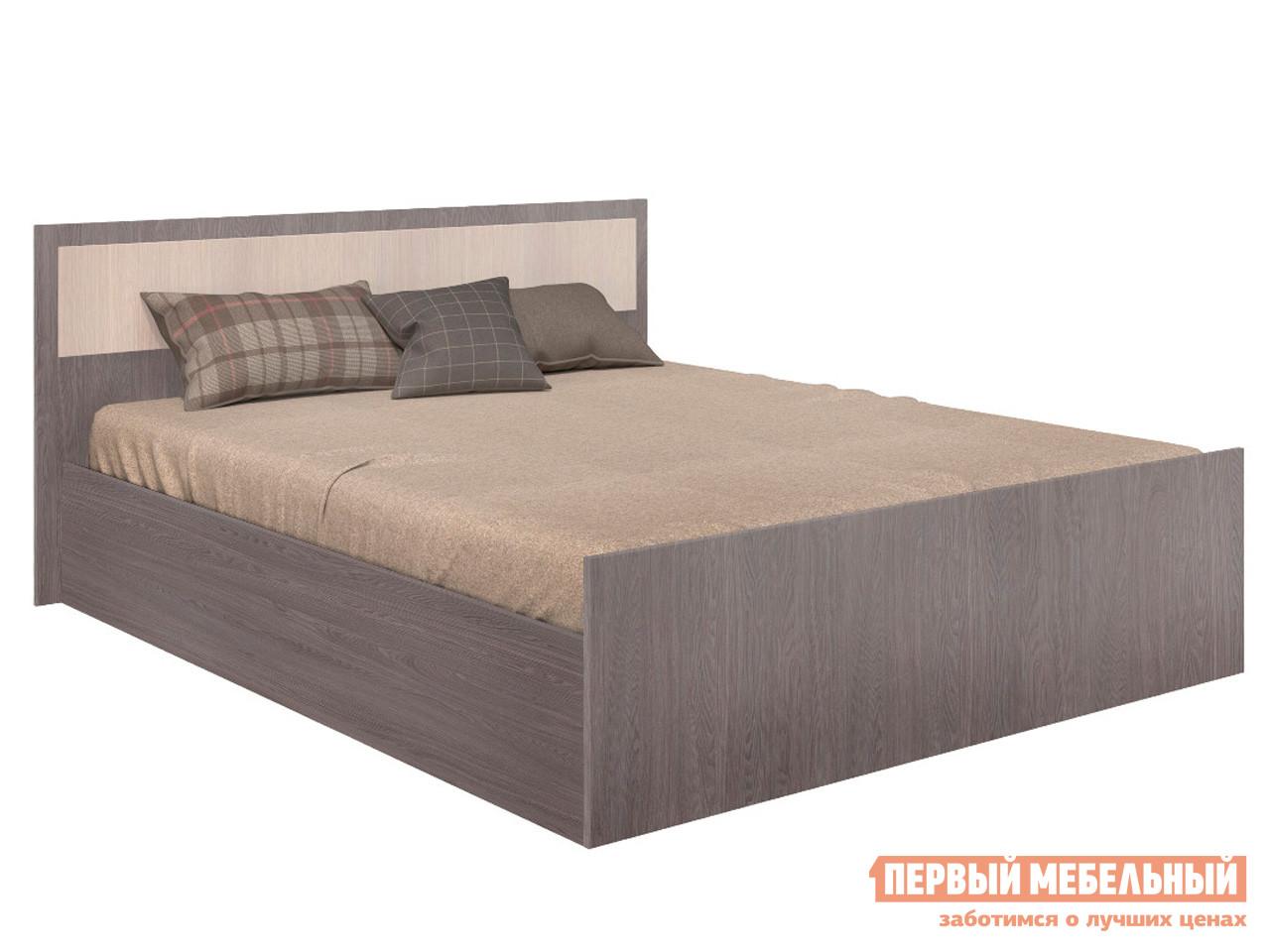 Односпальная кровать  Кровать Фиеста Ясень темный / Ясень светлый, 120х200