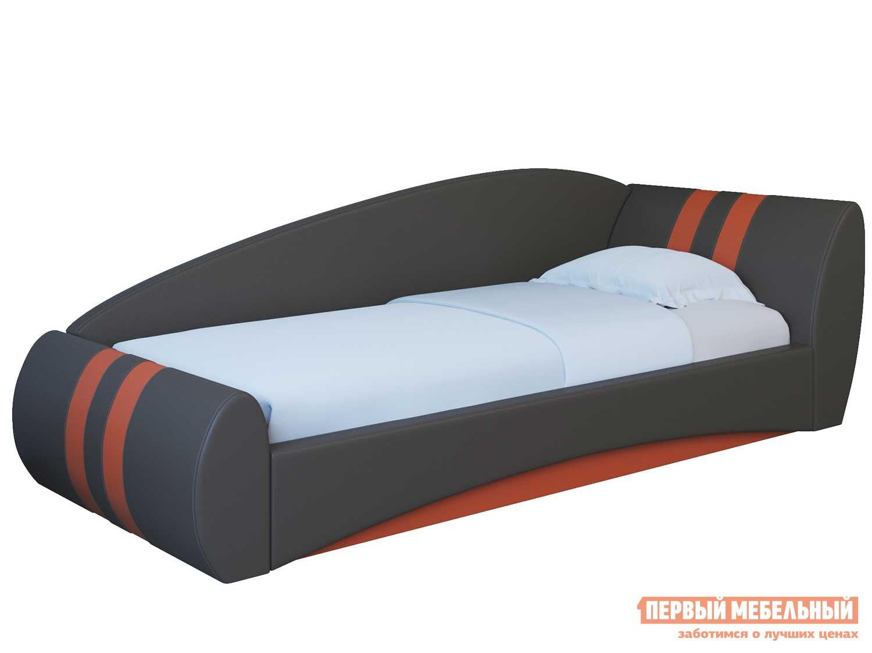 Односпальная кровать Первый Мебельный Гольф (Кросс) (200) Кровать одинарная односпальная кровать с ящиками первый мебельный кровать сакура