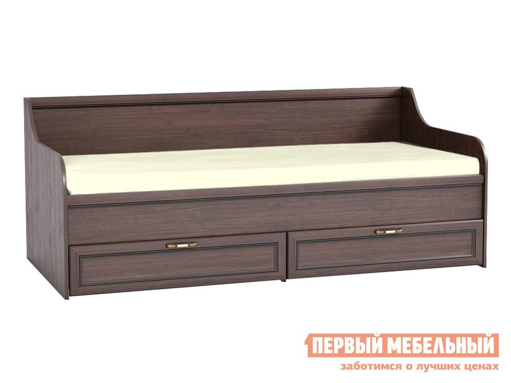 Односпальная кровать  Кровать Мадэра 11.18 Венге