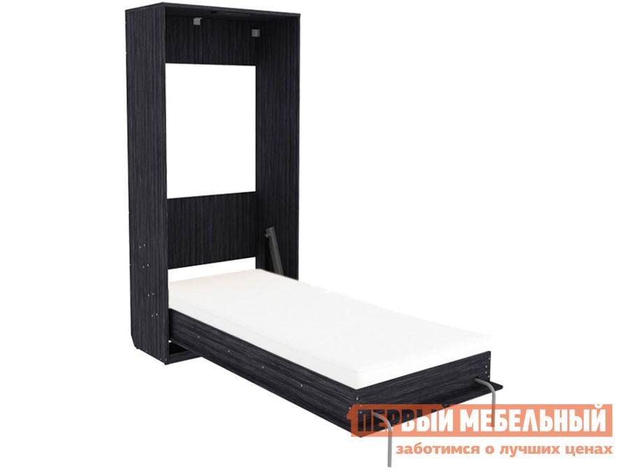 Односпальная кровать  Мерлен К02 Графит, 900 Х 2000 мм