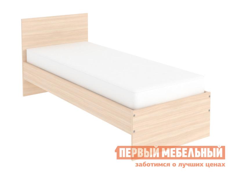 Односпальная кровать  Кровать Мерлен Молочный дуб, 800 Х 2000 мм