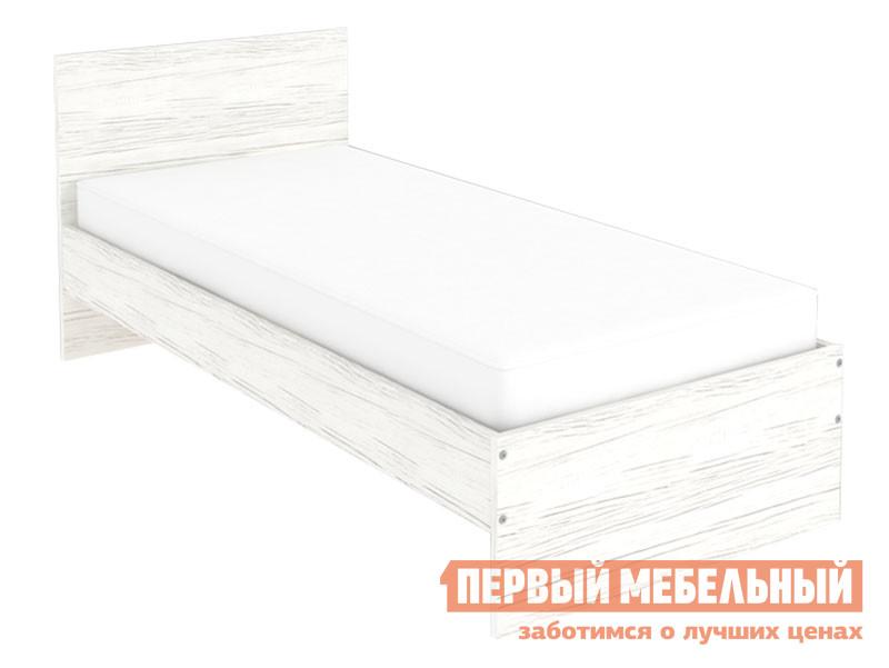 Односпальная кровать  Кровать Мерлен 900 Х 2000 мм, Арктика — Кровать Мерлен 900 Х 2000 мм, Арктика