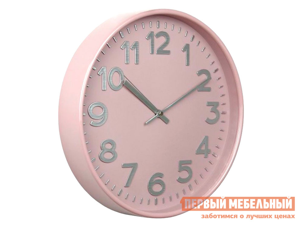 Часы  наст.Тройка 78773784 Розовый, пластик ГК ЧАСПРОМ ООО 136315