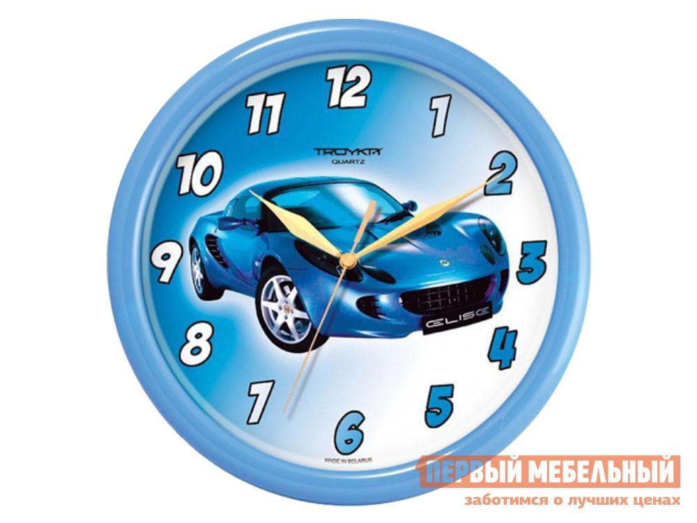 Часы  наст.Тройка 21241235 Голубой, пластик ГК ЧАСПРОМ ООО 130752