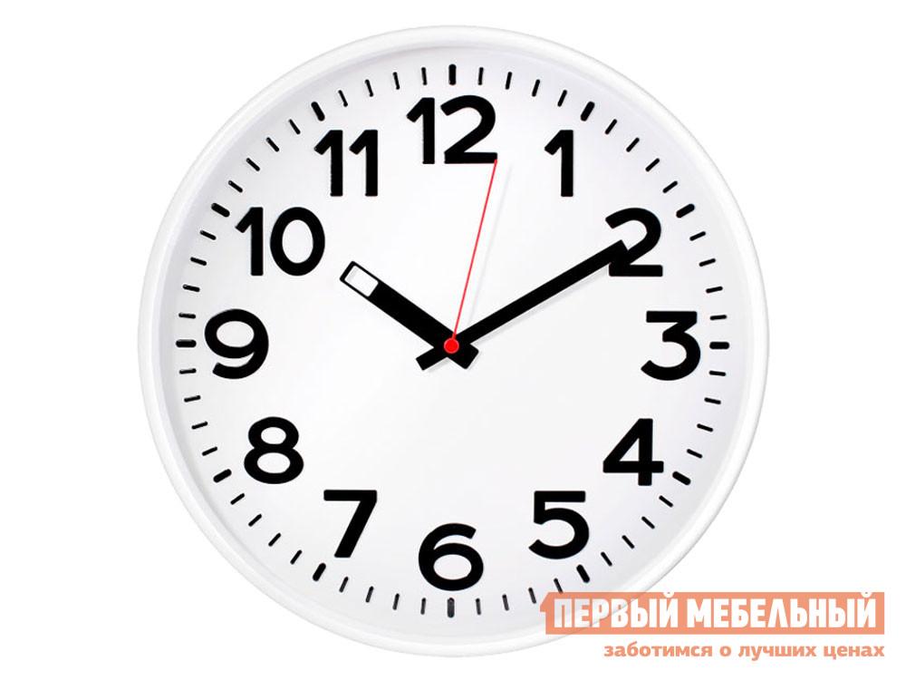 Часы  наст.Тройка 78771783 Белый, пластик ГК ЧАСПРОМ ООО 130745