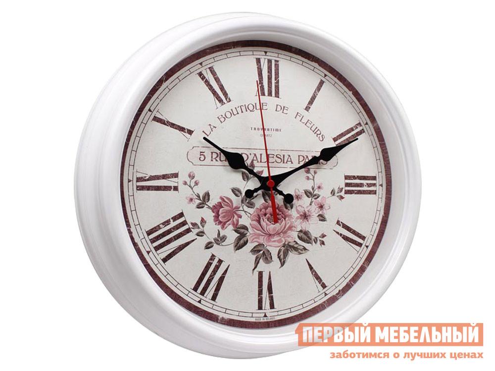 Часы  наст.Тройка 88881893 Белый, пластик ГК ЧАСПРОМ ООО 130749