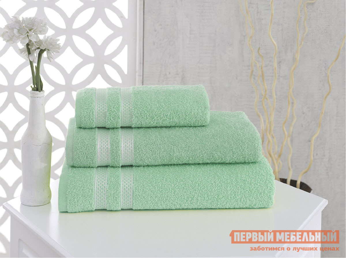 """Полотенце  Полотенце махровое """"KARNA"""" PETEK 50x100 см Зеленый, хлопок 2"""