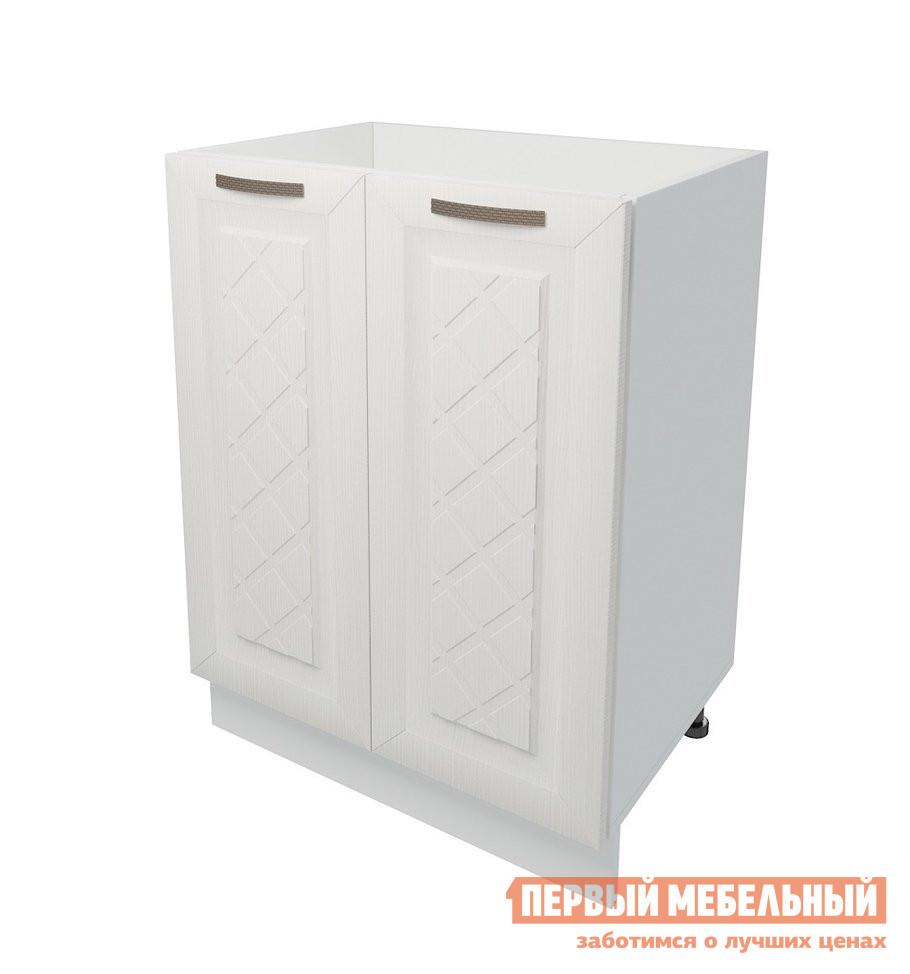 Кухонный модуль Первый Мебельный Стол под накладную мойку 2 двери 60 см Агава