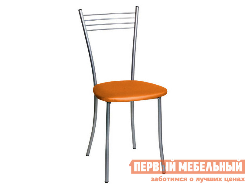Стул  Райт  Апельсиновый перламутр Rhodes 0455, Хром