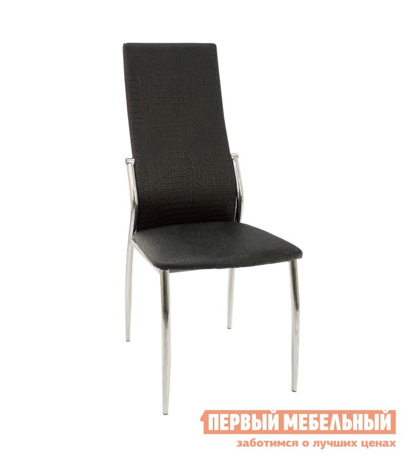 Кухонный стул ПМ: Гальваник ПАО Стул Комфорт Черный 218, Хром 1 от Купистол
