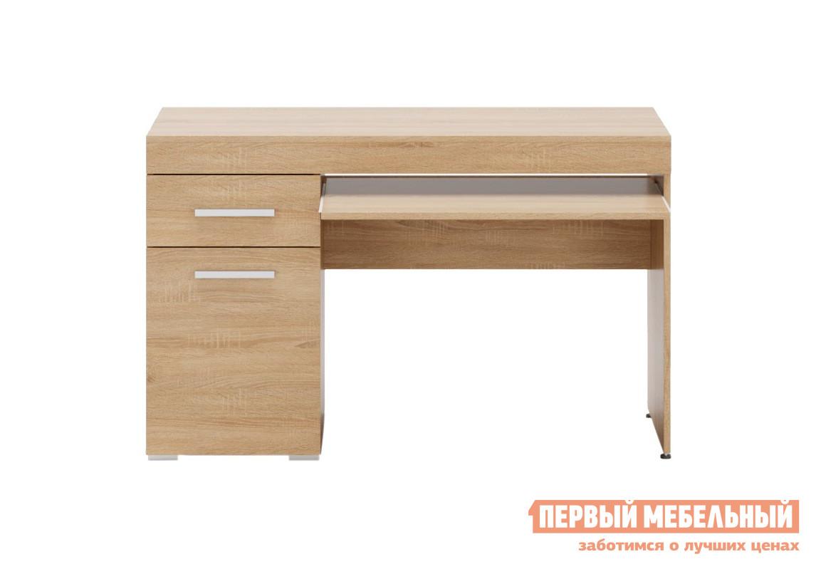 Стол для компьютера ПМ: Ливеко Компьютерный стол Ева Дуб сонома от Купистол