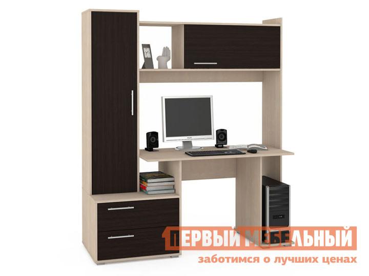 Компьютерный стол Первый Мебельный Брайтон 2000 СК М / Брайтон 2100 СК